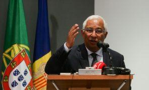 PRR: Costa anuncia reforço da digitalização dos consulados e ensino à distância do português