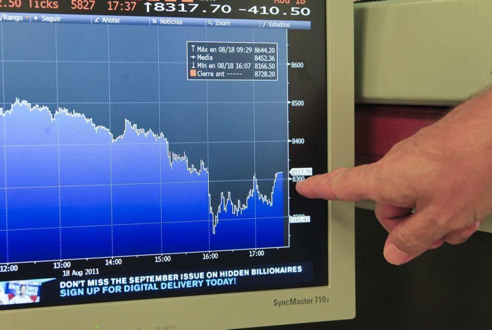 PSI20 recua 1,29% e bolsas europeias registam fortes quedas