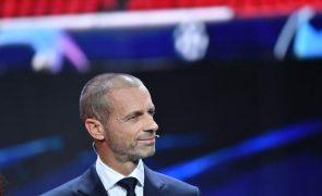 Superliga: UEFA elogia abandono dos seis clubes ingleses do projeto