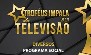 Troféus Impala de Televisão 2021: Nomeações para Melhor Programa Social