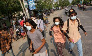 ONU acusa militares de terem provocado 250 mil deslocados internos em Myanmar