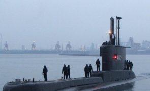 Marinha perde contacto com submarino com 53 pessoas a bordo