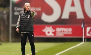 Jorge Jesus admite que Taça de Portugal e segundo lugar