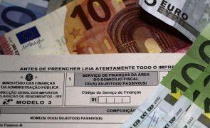 Fisco já processou 331 milhões de euros em reembolsos de IRS
