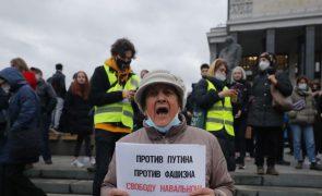 Navalny: Mais de mil detidos na Rússia em manifestações de apoio ao opositor de Putin