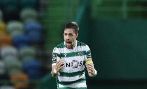Sporting evita primeira derrota na I Liga com golo nos descontos frente ao Belenenses SAD