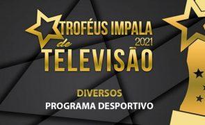 Troféus Impala de Televisão 2021: Nomeações para Melhor Programa Desportivo