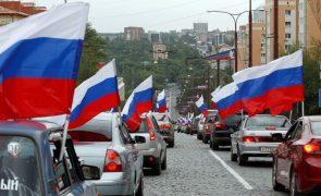 Rússia anuncia início da retirada de tropas perto da fronteira com a Ucrânia