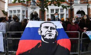 Navalny: Kremlin minimiza manifestações