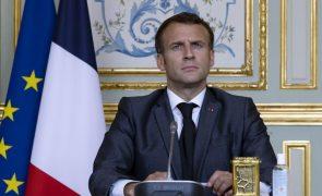 Clima: Macron pede mais rapidez na aplicação do Acordo de Paris