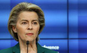 Clima: Ursula von der Leyen pede ao mundo que siga exemplo da Europa