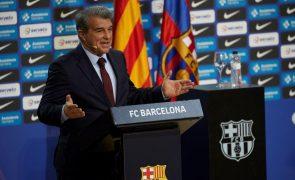 Superliga: Presidente do FC Barcelona fala em