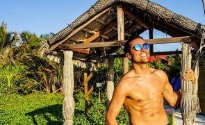 Ricardo Pereira em luxuosas férias nas Maldivas com a mulher [vídeo]