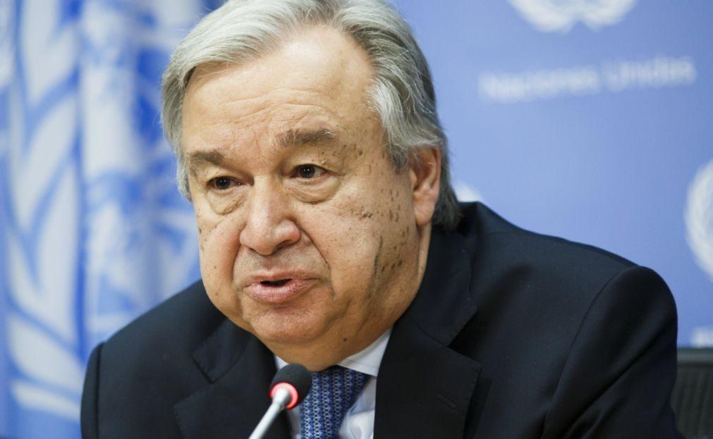 António Guterres acredita e pede sucesso nas negociações para reunificar Chipre
