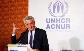 Alto comissário da ONU para os Refugiados preocupado com situação