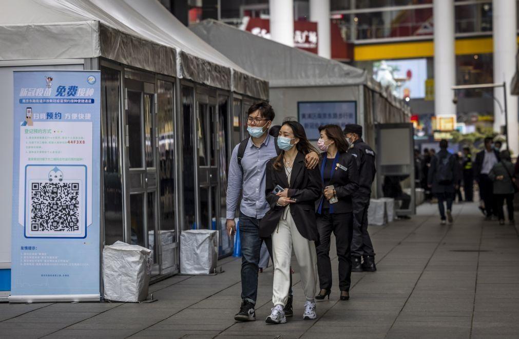 Covid-19: China com 19 casos em 24 horas, todos oriundos do exterior