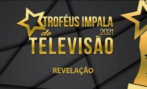 Troféus Impala de Televisão 2021: Nomeações na categoria Revelação