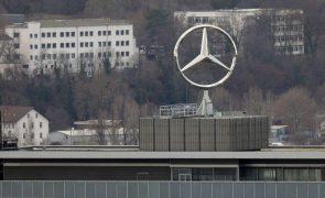 Lucro da Daimler aumenta 45 vezes no 1.º trimestre para 4.290 ME