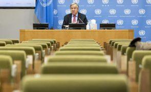 UE/Presidência: Guterres diz que é preciso acelerar investimento em renováveis em África