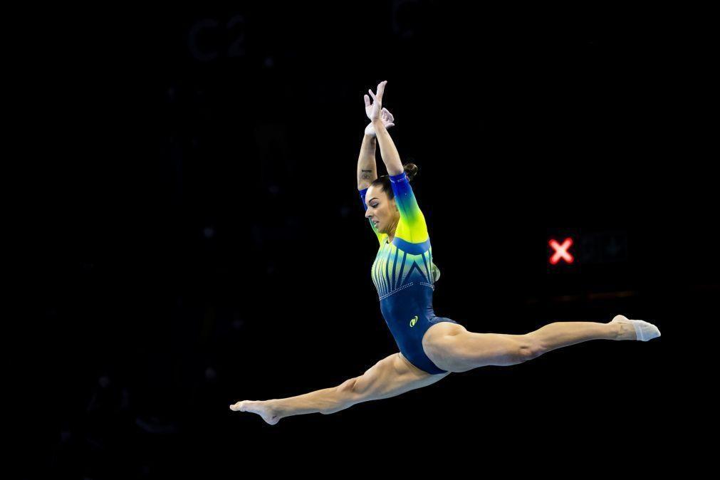 Filipa Martins foi 11.ª no concurso geral dos Europeus de ginástica artística
