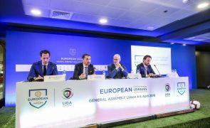 Superliga: Associação das Ligas Europeias quer modelo