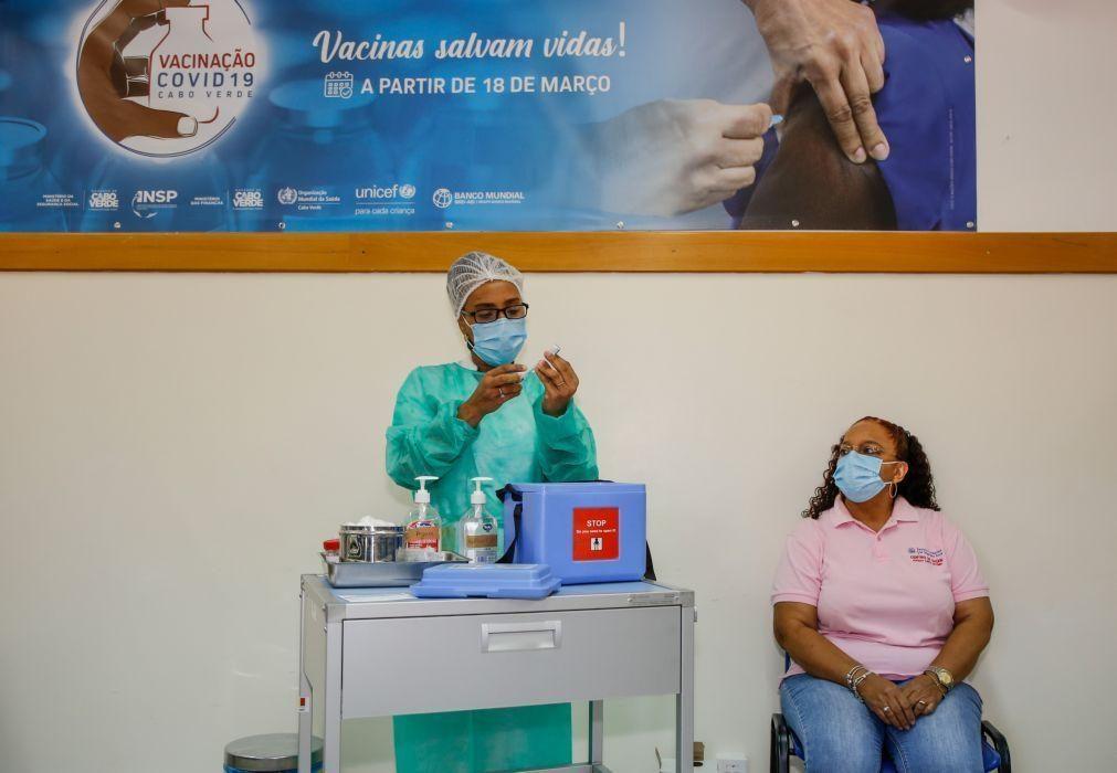 Covid-19: Cabo Verde vacinou mais de 14 mil pessoas e reforça fiscalização -- PM