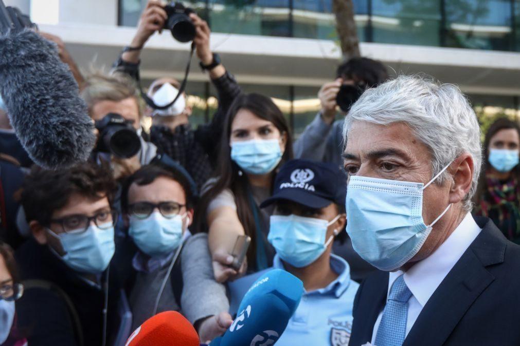 Operação Marquês: Sócrates quer constituir-se assistente no inquérito à distribuição do processo