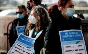 Professores manifestam-se hoje em Lisboa para