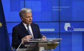 UE/Presidência: Comissário destaca