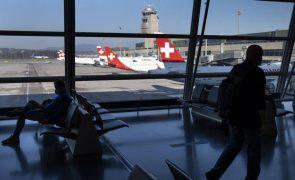 Covid-19: Suíça deteta primeiro caso de variante indiana -- autoridades de saúde