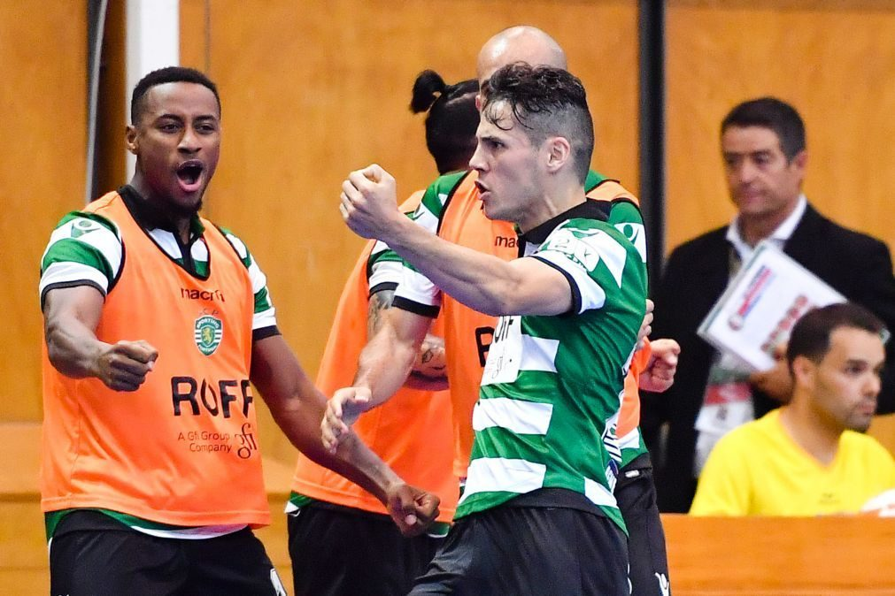 Sporting sagra-se campeão português de futsal