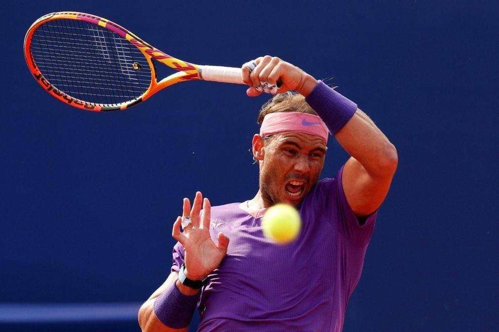 Rafael Nadal defronta Tsitsipas na final do torneio de ténis de Barcelona
