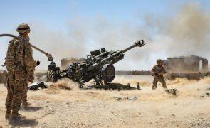 EUA e NATO entregam todo o equipamento militar a Cabul antes da retirada