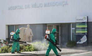 Covid-19: Madeira com 34 novos casos e 25 recuperados