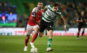 Líder Sporting com deslocação de risco a Braga