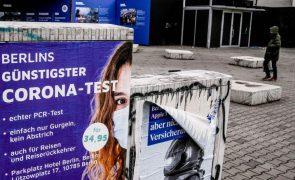 Covid-19: Alemanha regista 120 mortes e 18.733 novos casos nas últimas 24 horas