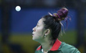 Shao Jieni afastada da prova de ténis de mesa dos Jogos Olímpicos Tóquio2020