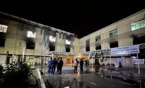 Covid-19: Ministro da Saúde iraquiano suspenso após mais de 80 mortes em incêndio num hospital