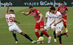 Sevilha bate Granada e garante acesso à Liga dos Campeões em 2021/22