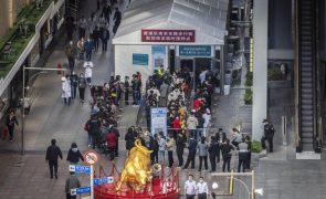 Covid-19: China com 11 casos em 24 horas, todos oriundos do exterior
