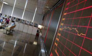 Bolsa de Xangai encerra a cair 0,95%