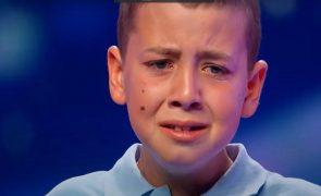 Got Talent Portugal Jovem de 11 anos em lágrimas ao conquistar o primeiro botão dourado