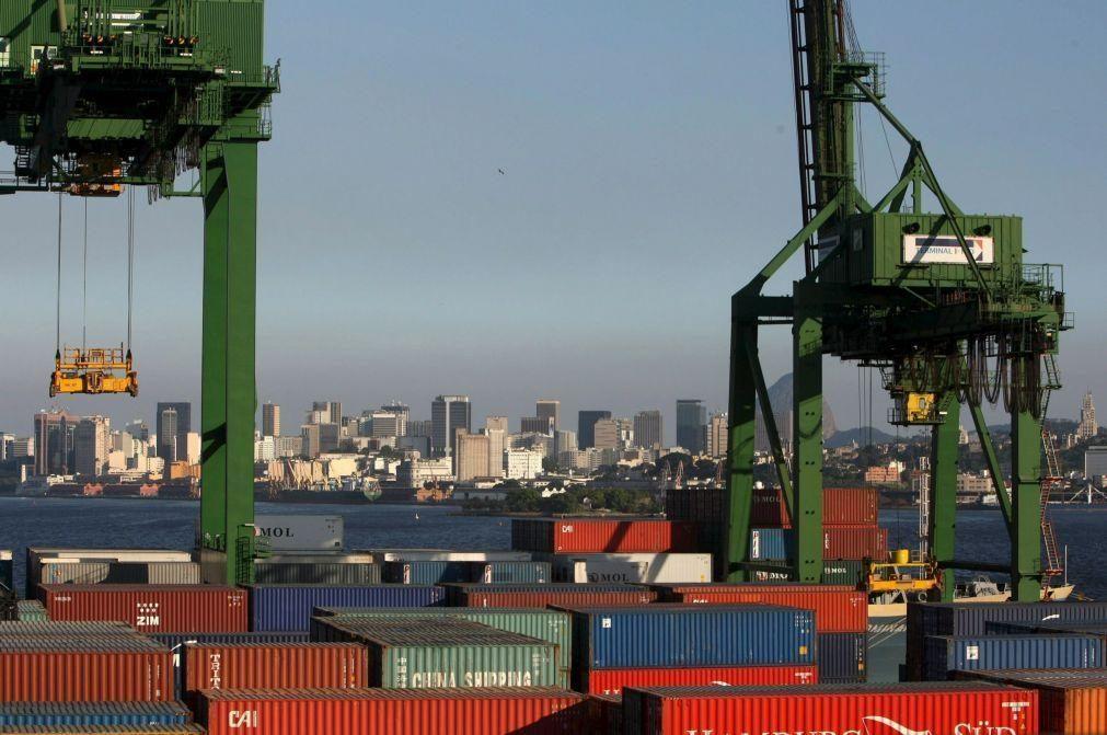 Brasil reduz em 28,8% défice das suas contas externas no primeiro trimestre