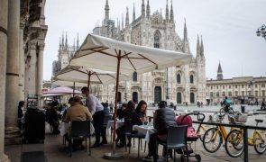 Covid-19: Itália com 8.444 novos casos no primeiro dia de desconfinamento gradual