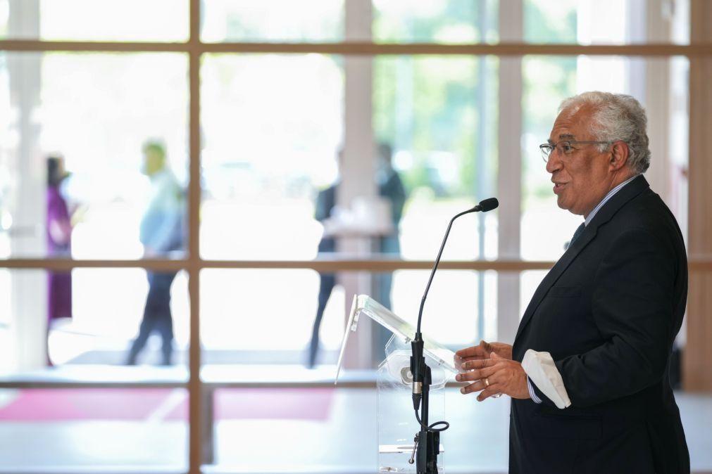 António Costa com esperança que Portugal avance para última fase de desconfinamento