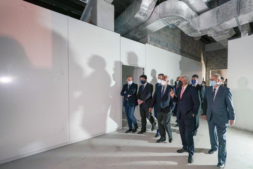 PM congratula-se com construção de fábrica de vacinas em Paredes de Coura