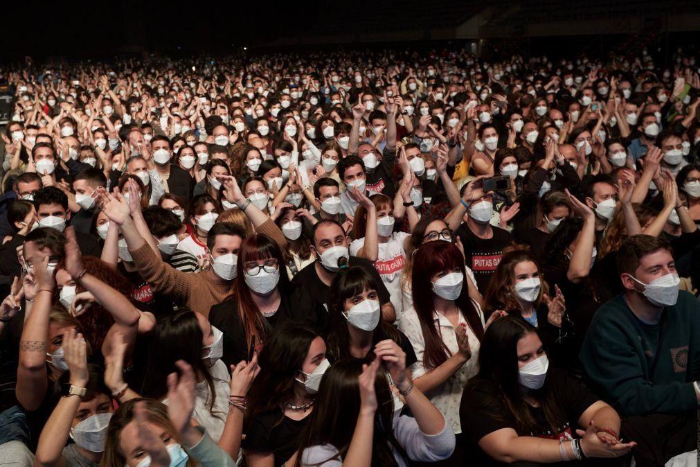 Concerto em Barcelona mostra que grandes eventos podem ser seguros
