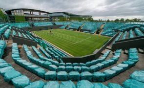 Wimbledon regressa com pelo menos 25% da lotação