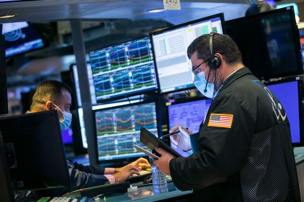 Wall Street inicia sessão no 'vermelho' em reação a resultados trimestrais