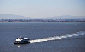 Ligações fluviais entre margem sul e Lisboa interrompidas quarta-feira